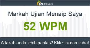 Ujian Menaip Malaysian 10fastfingers Com