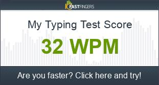 How fast do ya type? 1_wpm_score_AG