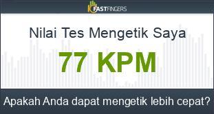 Tes Mengetik Indonesia - 10FastFingers.com - MRR Cyber