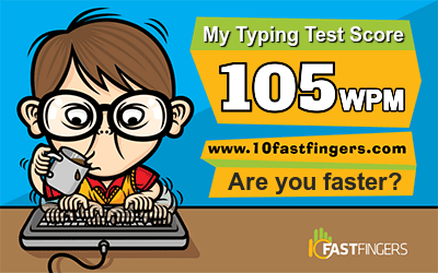 TWW - How fast are your fingers?